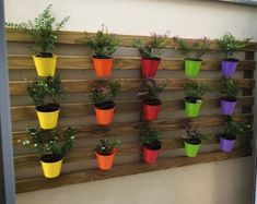 38 new ideas pallet garden furniture vertical planter Pallet Home Decor, Pallet Garden Furniture, Pallets Garden, Garden Planters, Indoor Garden, Wall Planters, Balcony Gardening, Herb Garden, Palette Diy