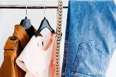 Is it possible that your year round capsule wardrobe could be more than basic? See how to incorporate trendy pieces into your capsule this year! Summer Wardrobe, Capsule Wardrobe, How To Organize Your Closet, Seasonal Color Analysis, Ethical Clothing, White T, Save The Planet, Season Colors, Sustainable Fashion
