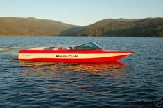 Mastercraft Prostar 190 one of the places I can truly find peace. A Mastercraft and the lake.
