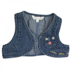 Kamizelka jeans Debenhams 74-80