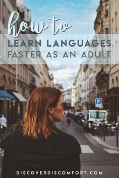 How adults can learn languages much faster than children, and how to use your age and experience to your advantage in learning. German Language Learning, Language Study, Learn A New Language, Foreign Language, Learning Italian, Learning Arabic, Learning Spanish, Spanish Activities, Learn German