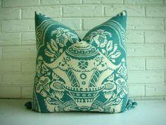 Decorative Toss Pillow Cover  Throw PIllow  by habitationBoheme, $40.00