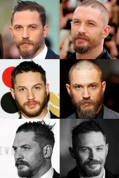 Tom Hardy's beard may be one of the coolest beards in Hollywood. Known for his rugged beard, Tom Hardy's facial hair styles are worth noting and replicating. In fact, Hardy…View Tom Hardy Beard, Tom Hardy Haircut, Beard Styles For Men, Hair And Beard Styles, Hair Styles, Goatee Styles, Best Short Haircuts, Haircuts For Men, Short Hairstyles