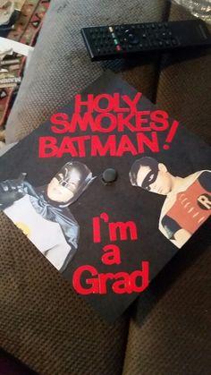 Batman Graduation Cap