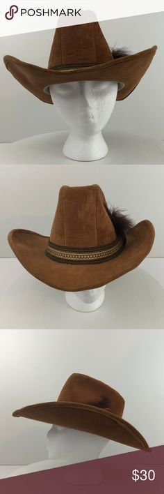 Vintage Union Made Suede Cowboy Hat Vintage United Hatters Cap and  Millinery Union Suede Men Cowboy 67dd76fbbfac