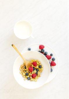 healthy breakfast by theNormal  IFTTT 500px blueberry breakfast food fresh healthy natural organic raspberries white