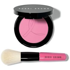 Bobbi Brown Peony Breast Cancer Awareness Blush Set ($50) ❤ liked on Polyvore featuring beauty products, makeup, cheek makeup, blush, beauty, cosmetics, filler, apparel & accessories, powder blush and bobbi brown cosmetics