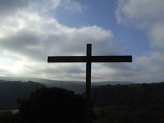 The cross at Ffald Y Brenin - the cross defies rational explanation. It is a symbol of our need and God's response.