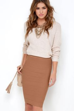a68cce5378a 18 Awesome bandage skirt outfit images