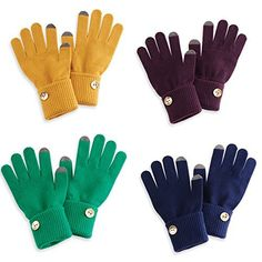 Mud Pie Ellie Convertible Button #Gloves  Price : $14.95 http://www.whimsicalumbrella.com/Mud-Ellie-Convertible-Button-Gloves/dp/B00LBBG34E