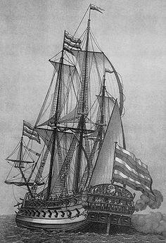 Marine impériale de Russie, le vaisseau