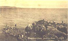 Dun Laoghaire - 40 Foot Bathing Place Photo Engraving, Dublin, Old Photos, Postcards, Bathing, Ireland, Irish, Past, Archive