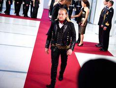 Jarno Leppälä from the Dudesons wearing gTIE | Linnan juhlat 2013