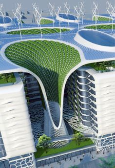 The Gate Residence, Vincent Callebaut Architectures, world architecture news, architecture jobs