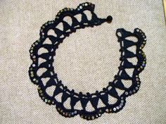 black-necklace....I love this necklace and a big thanks for the free pattern!