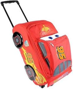 Cars Lightning McQueen Suitcase