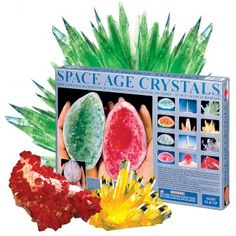 Complete rock nerd when I was younger. I always wanted one of these kits to grow my own crystals.... I think I even got a small kit one year and it didn't work.. :-/