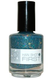 Nail polish called Han Shot First.  Get your nerd on.