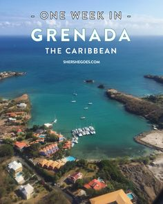 Headed to the Spice Island? Here's a travel guide covering the best things to do in Grenada, from food to sights to waterfalls plus a bonus 3 day itinerary! Grenada Caribbean, Caribbean Vacations, Dream Vacations, Grenada Resorts, Caribbean Food, Romantic Vacations, Romantic Travel, Cayman Islands, Bora Bora