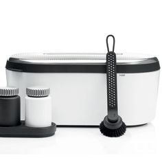 The Vipp breadbox offers an aesthetic tool for storage of bread.