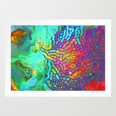 Abstract Watercolor Art Print by MovingForward - $15.60    ...BTW,Please Check this out:  http://artcaffeine.imobileappsys.com