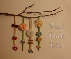 barrette holders | Branch Barrette Holder | Flickr - Photo Sharing!