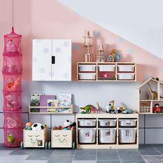 Kids Playroom Storage Ideas from IKEA - cenfant