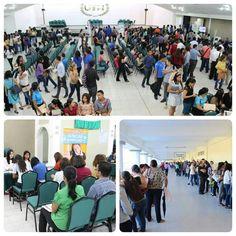 I Jornada de Reclutamiento 2015 en #UTH #SanPedroSula organizada por la carrera de #RelacionesIndustriales ¡Aún estás a tiempo de asistir! Hay más de 10 empresas. Trae tú currículum al auditorio #1