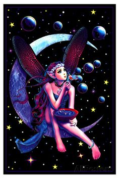 Fairy Dream Flocked Blacklight Poster Posters at AllPosters.com