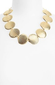 Topshop Shell Collar Necklace | Nordstrom