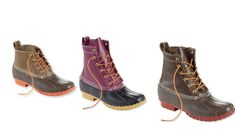 L.L. Bean's duck boots got a serious makeover — see all the new styles