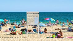 Cleanest: Main Beach in East Hampton. Arguably the East End's most popular beach, Main Beach is an all-around people pleaser that regularly tops lists of the world's best beaches because of its super-clean, super-fine powdery sand.