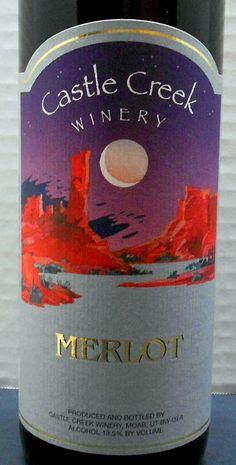 Utah (Castle Creek Winery Merlot)
