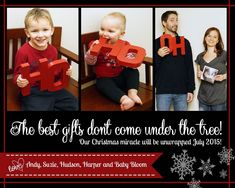 """""""Joy to the World"""" takes on quite a new meaning when couples find out they're expecting.The only thing left to do is share the big news with family and friends with a little help from Santa, the Elf on the Shelf, unusual ornaments and other creative yuletide props.We asked you to submit your holiday-themed pregnancy announcements on the TODAY Parents Facebook page and we received dozens of cute ph"""