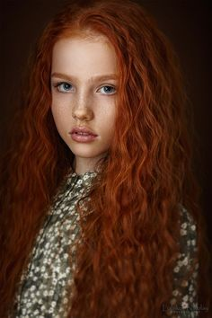 """A young Brianna - love red hair with freckles (10-03-2015 Photo #99 """"Beautiful People from around the World"""" Series One Amazing World Citizen a Day in the Spotlight)"""
