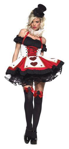 Dark Heart Queen Adult Costume