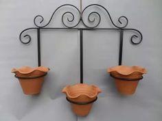 Suporte Jardim Suspenso Vasos - en hierro forjado