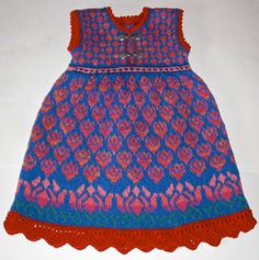 Wow hand knitted dress