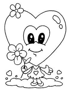 Kleurplaten Van Valentijn.75 Beste Afbeeldingen Van Valentijn Kleurplaten Coloring Pages