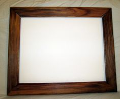 Canary Wood Frame by Boulder Bound Woodshop