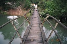 Bridge in My Son, Vietnam. Just outside of Hoi An. Hoi An, Central Coast, Angkor Wat, Over The Years, Vietnam, The Outsiders, Bridge, Around The Worlds, Pictures