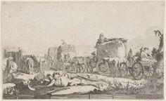 Zomer, Willem Pietersz. Buytewech, ca. 1622