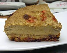 Gâteau à la vapeur douce aux amandes et aux fruits secs pour le Nouvel An Chinois sans gluten ni lactose
