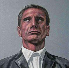 Erik Suidman, 'half past 4', oil and acrylics on canvas.