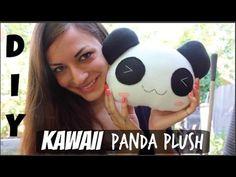 DIY Kawaii Panda Plush! EASY Crafting Tutorial - YouTube