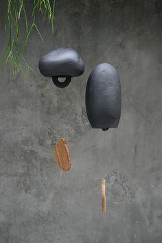 ceramic wind chimes.