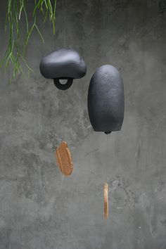 . . . wonderful terracotta wind chime by Gallery1822 . . .