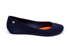 MEL baleriny POP FLOCKED II SP AD 32153 51443 BLUE/ORANGE | Schaffashoes.pl
