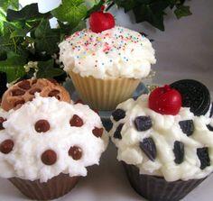 Cupcake candles!  Yum!