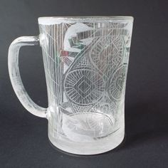 "Hand engraved glass beer mug, Personalized beer mug, Cards suit beer mug, Poker beer Mug, Poker lover gift, Gift for him,  Clear glass mug    This beer mug would be a perfect gift for your father, brother, boyfriend or friend.    On the mug is engraved stylized four card symbols. At the bottom of the mug was written ""Cheers!""    Hold 16,90 oz- 500 ml of liquid.    Measurements of the glass cup: 5,3"" / 13,5 cm / height; 3.7 "" / 9,5 cm / diameter above…"